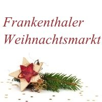Marché de noël  Frankenthal