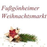 Marché de noël 2019 Fußgönheim