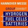 Group Exhibit Hydrogen + Fuel Cells + Batteries, Hanovre